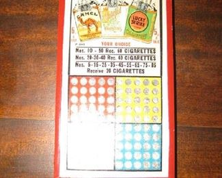 punch card boards