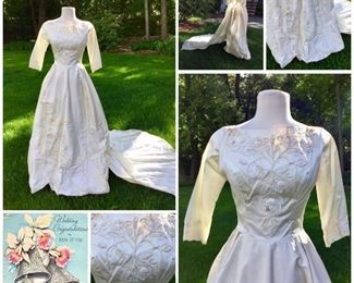 1940 Wedding Dress