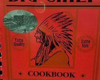"Much books and cookbooks. St. Joseph's own ""Big Chief"" rare cook book"