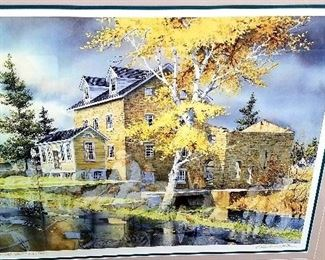 """Much artwork. """"At The Mill"""" 956/1250"""