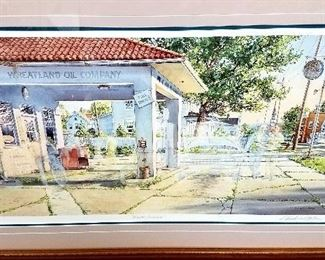 """SUNDAY ALL REMAINING ITEMS 1/2 OFF!!         Please plan on attending next weekend's Large 2 Day Estate/Family. It's a Collectors and Dealers Dream Sale!! Total of 6 different families and estates moved into one location!! 10 more Charles Peterson """"Ghost"""" framed Collectors Edition prints. """"Full Service"""" 1003/2500"""