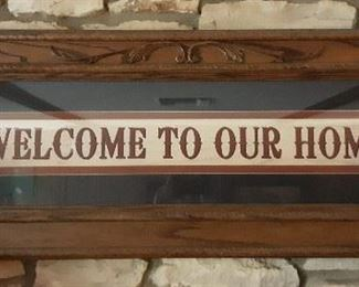 """Custom Made 47""""x18"""" Solid Wood Frame with Glass"""