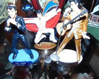 """Elvin figurines.  About 8 """" tall."""
