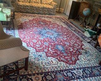 large carpet oriental style