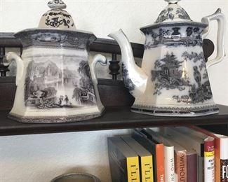 English Porcelain Pitcher