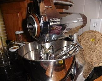 ·	Vintage Sunbeam Mixer (works great)