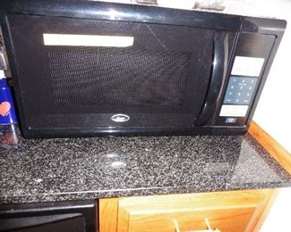 ·	Oyster Microwave (Counter Top, like new).