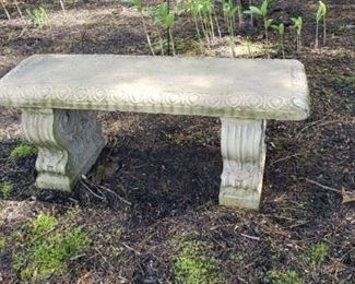 Set of 2 Stone Benches