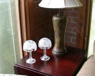 Matching end table and lamp