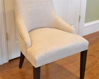 Set of six Restoration Hardware dining chairs