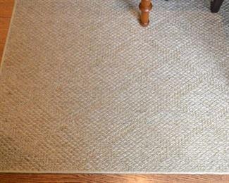 Sisal rug, measure approx. 8' X 10'