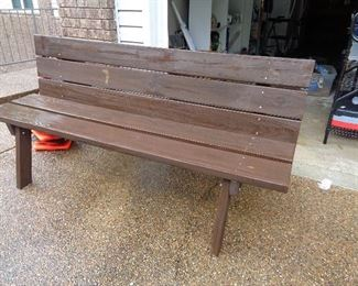 home made bench