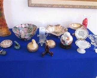 Assorted Decorative & Serving Pieces