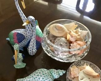 Herend Collection featuring Birds and Sea Shells