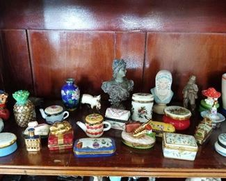 Limoges and other small Boxes