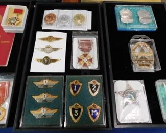 Vintage Military Campaign medals