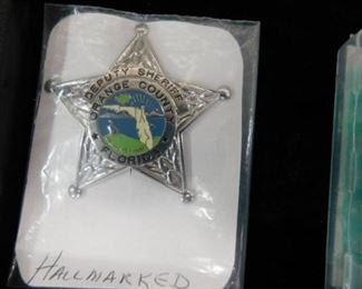 Orange County Florida Deputy Sheriff badge