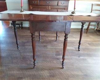 gate leg vintage table  $235.00