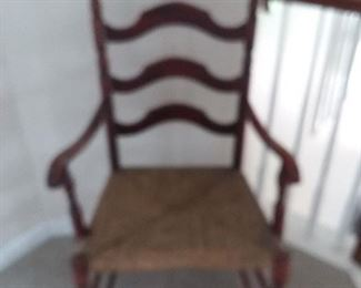 ladder back chair  $45.00