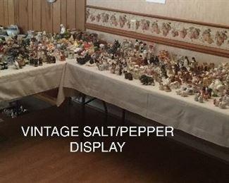 VINTAGE SALT/PEPPER COLLECTION