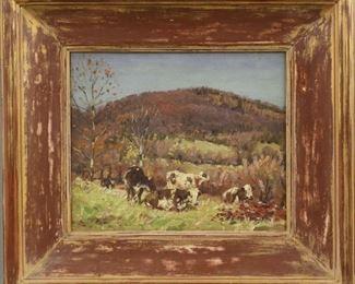 George Glenn Newell Painting