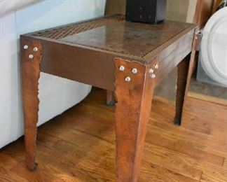 COOL HANDMADE METAL TABLE