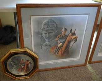 FRED STONE SIGNED PRINT