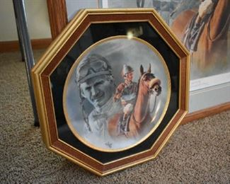 FRED STONE COLLECTOR PLATE