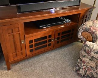 MISSION STYLE TV STAND