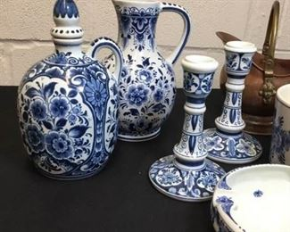 003 Delft Collection 7 Pieces, Made in Holland