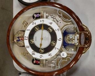 #1126: Seiko High Fidelity Sound Clock, 2 Kirch Clocks, and Apollo Clock Seiko High Fidelity Sound Clock, 2 Kirch Clocks, and Apollo Clock