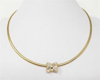 """#158: 14k Gold Necklace with Pendent, 17.7g Weighs approx 17.7g, measures approx 16.5"""""""