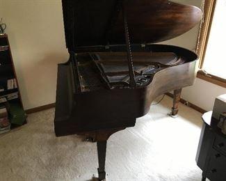 Steinway Model M Baby Grand Piano