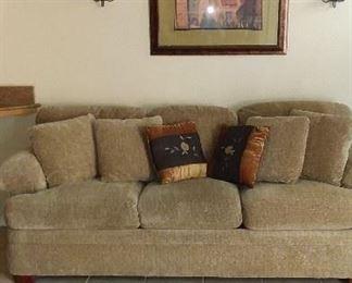 Sofa just like new $300- La-Z-Boy