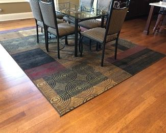$100 obo Home Dynamix Bazaar Cas HD1626-Brown-Multi 7 ft. 10 in. x 10 ft. 1 in. Area Rug 1-HD1626-552-from Home DepotHome Dynamix Bazaar Cas HD1626-Brown-Multi 7 ft. 10 in. x 10 ft. 1 in. Area Rug 1-HD1626-552-from Home Depot