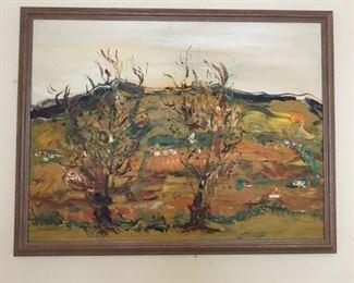 Landscape in Neutral Autumn Colors https://ctbids.com/#!/description/share/159965