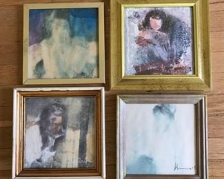 Four Women Series by Slavica Vuckovic https://ctbids.com/#!/description/share/159966