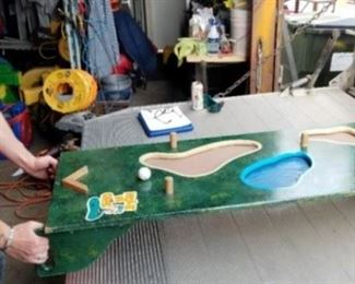 Golf Table game by Huffer