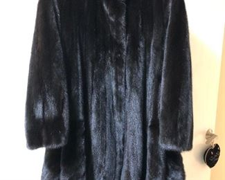 Mink swing coat