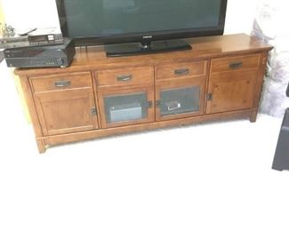 Entertainment Cabinet and More