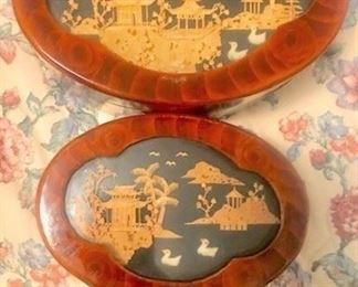 Asian Carved Boxes