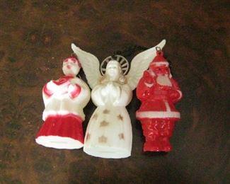 Mid-century Christmas ornaments