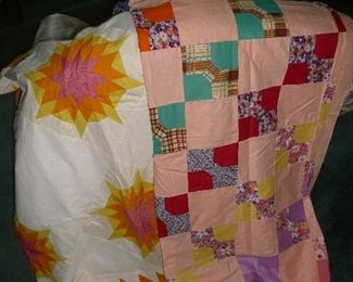 quilts /  bow tie / sun burst