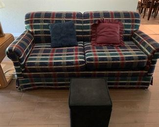 Nice Sleeper Couch with Mattress Topper
