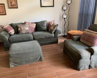 Comfy Micro suede Couch Set