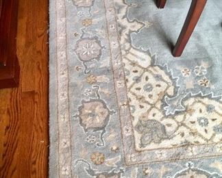 """10' by 8'2"""" wool rug"""