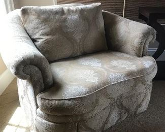 Oversized chair by Ethan Allen
