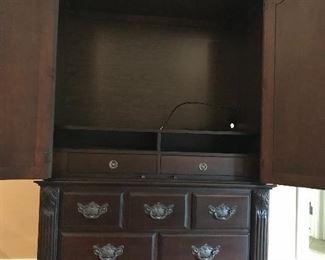 Large  wardrobe / tv cabinet by  Bernhardt
