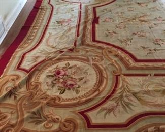 Aubusson Rug , 30 ft. x 14.5 ft.