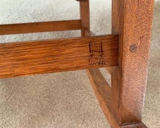 Early 1900's Stickley 521 sewing rocking chair